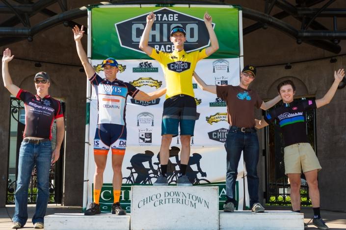 Elite 3 - Chico Stage Race Podium (Photo: Alex Chiu)